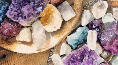 crystals for the home