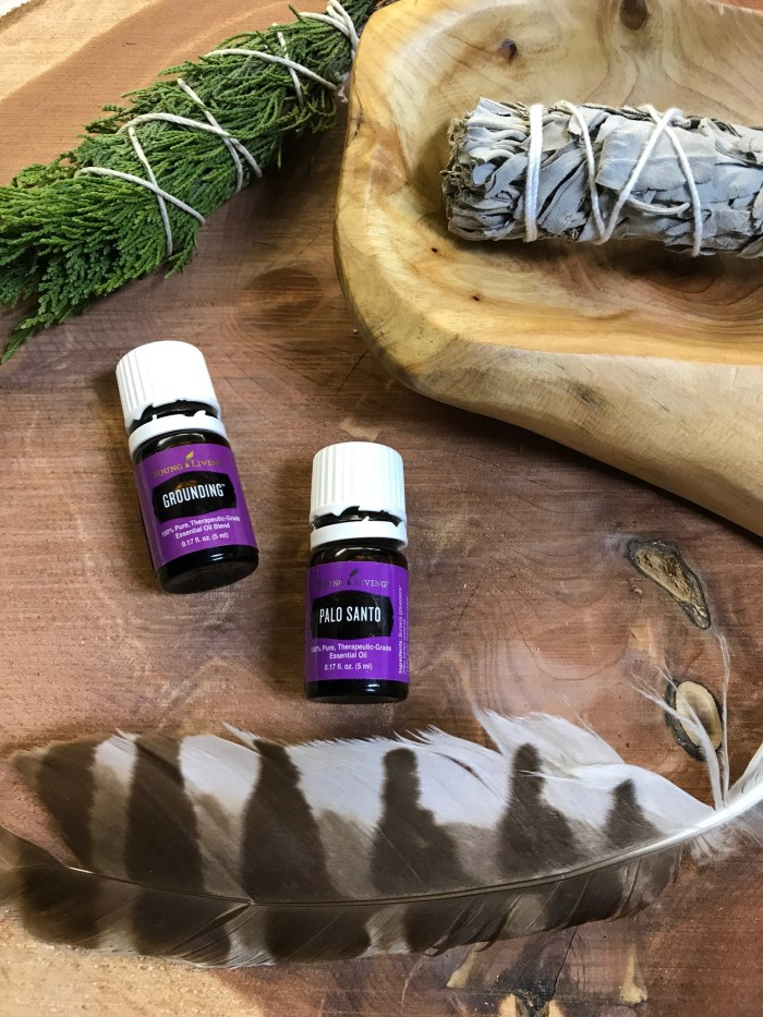 grounding essential oils