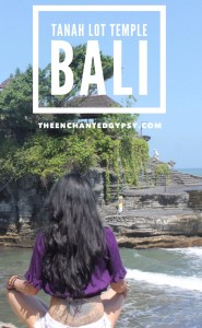 Tanah Lot Temple on the water, Bali, Indonesia www.TheEnchantedGypsy.com
