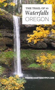 The Trail Of 10 Waterfalls, Silver Falls State Park Oregon www.TheEnchantedGypsy.com