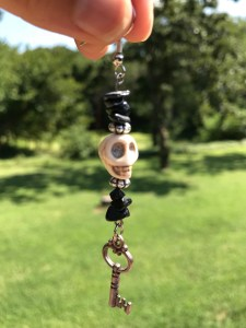 skeleton key earrings www.theenchantedgypsy.com