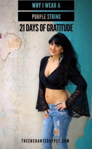 21 Days of Gratitude Challenge www.TheEnchantedGypsy.com