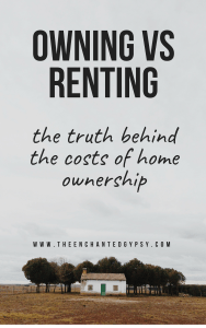 buying a home vs renting costs of home ownership
