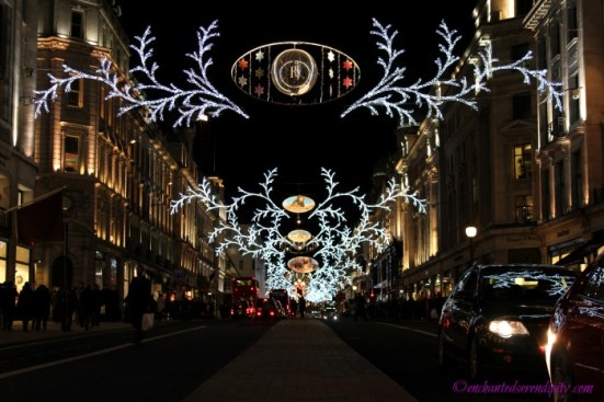 London at Christmas: Regent Street