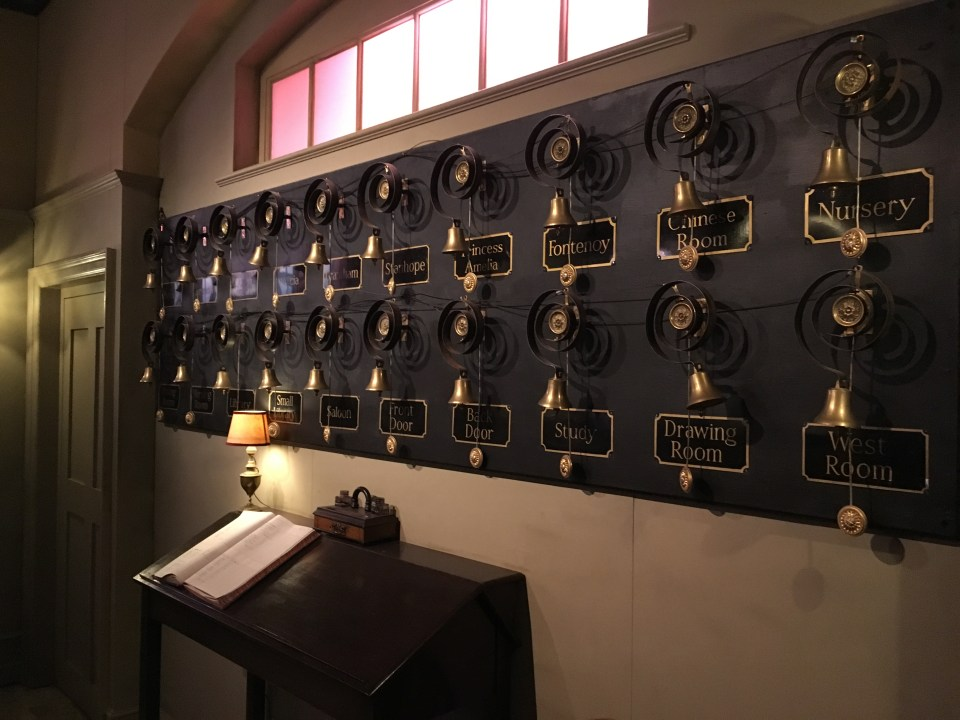 Downton Abbey The Exhibition Bell Board