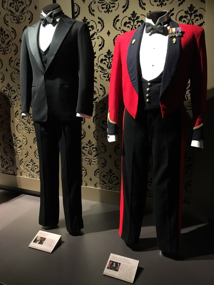 Downton Abbey The Exhibition Lord Grantham Henry Talbot Formal Wear