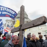 Washington,,Dc,-,January,6,,2021:,Pro-trump,Protester,With,Christian