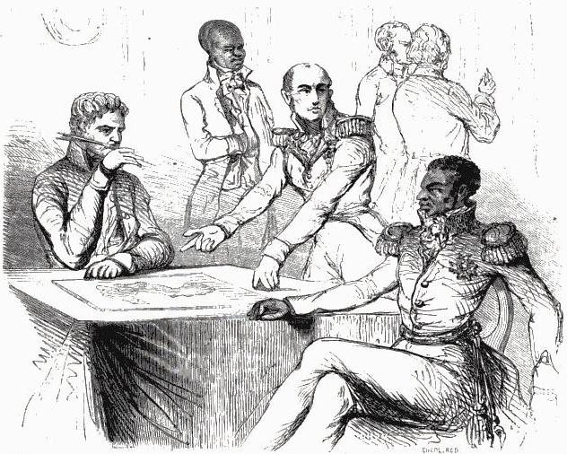 history of haiti, agreements with france 1825