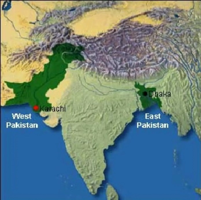 east pakistan west pakistan 1971