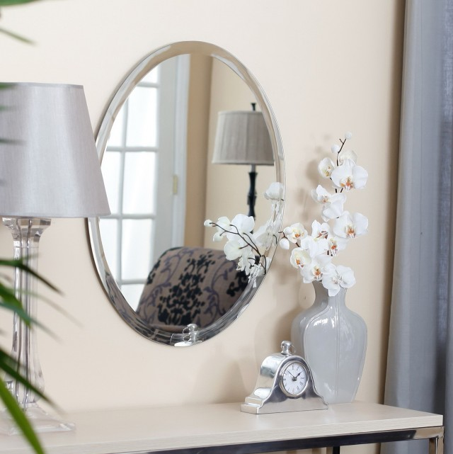 Home Depot Mirrors Oval