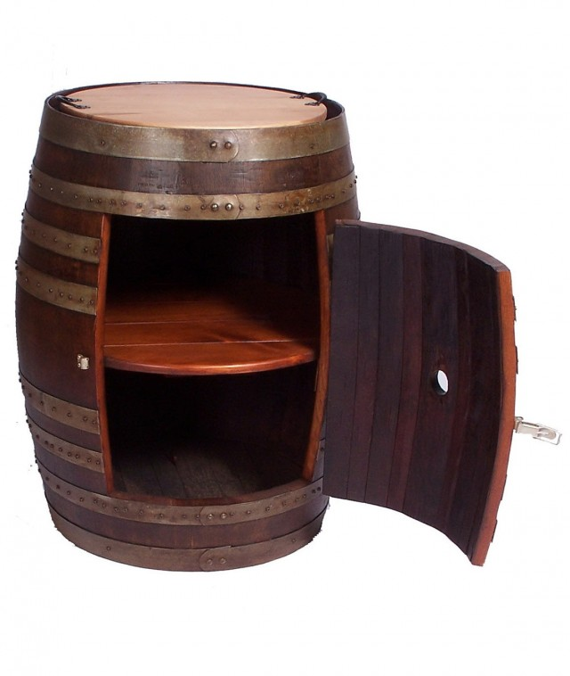 Patio Side Table With Storage