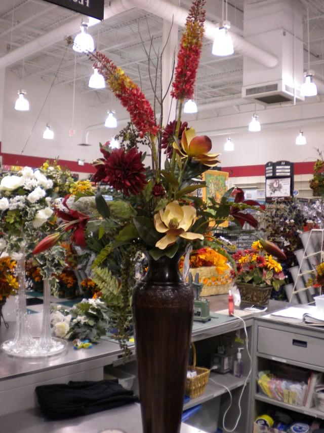 Tall Floor Vase Floral Arrangements