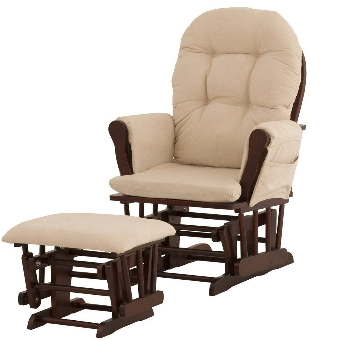 Baby Rocking Chair And Ottoman