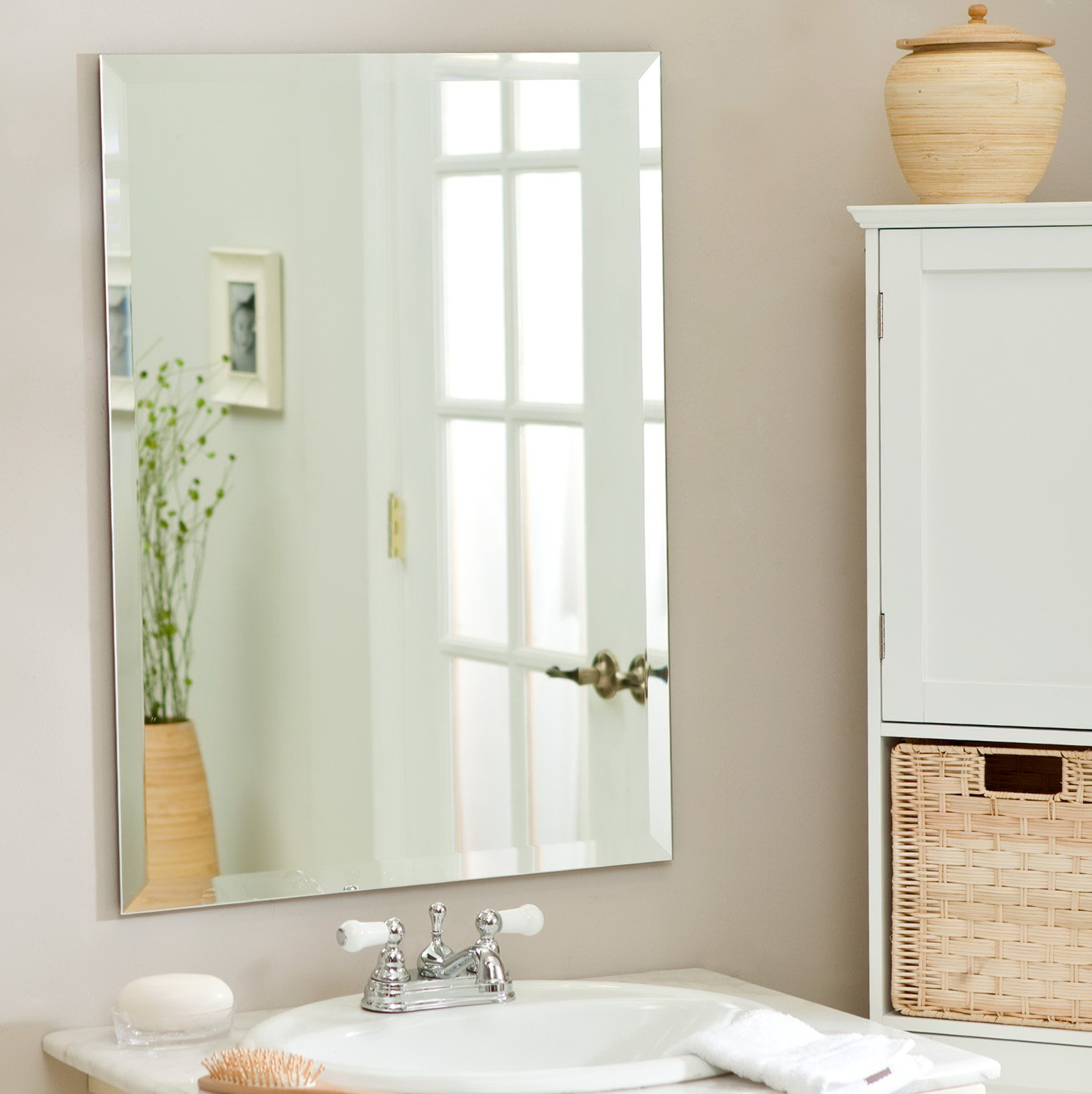Bathroom Wall Mirrors White