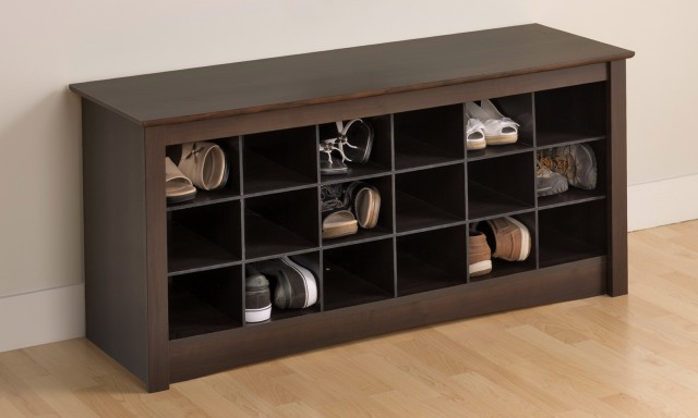 Entryway Storage Bench Shoes