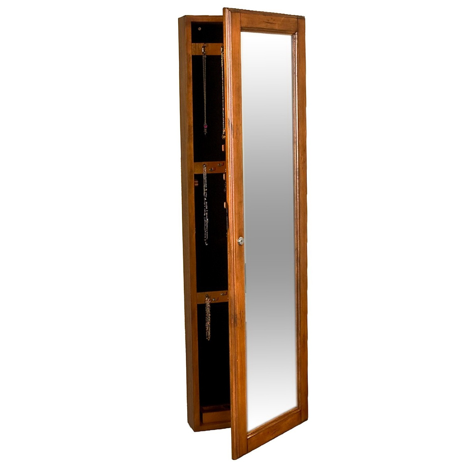 Floor Length Mirror With Jewelry Storage