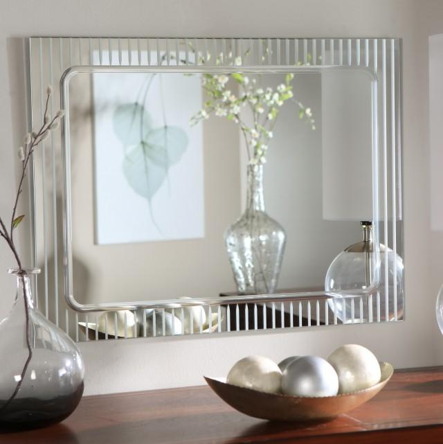 Ideas For Framing A Large Bathroom Mirror