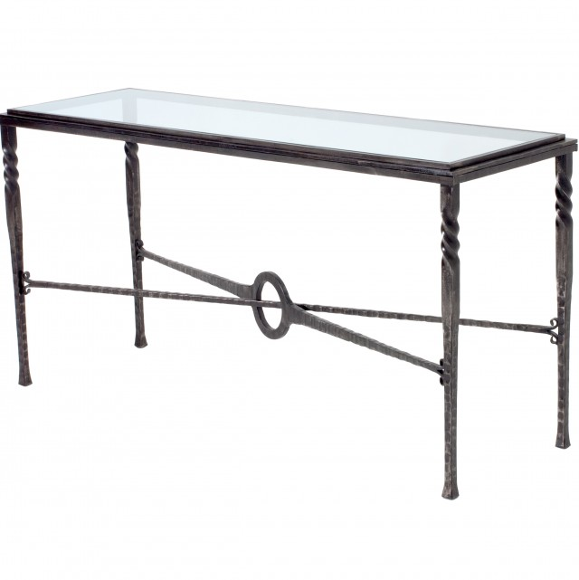 Metal Outdoor Console Table