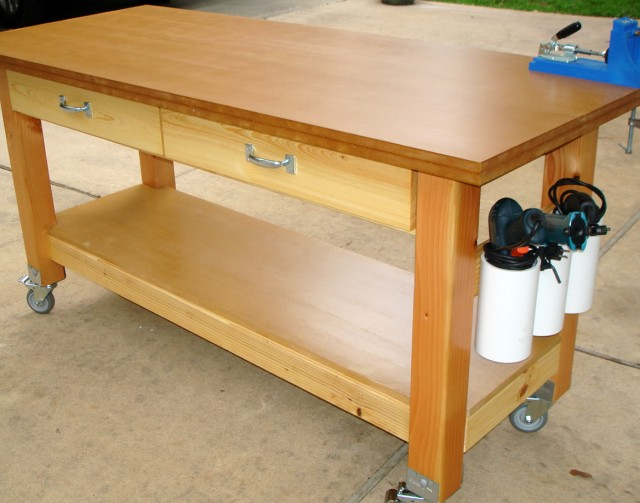 Rolling Woodworking Bench Plans