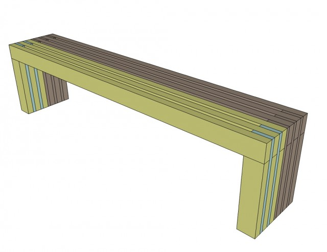 Simple Wooden Bench Plans Free