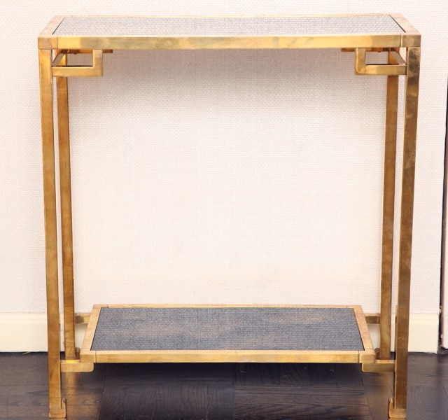 Small Gold Console Table