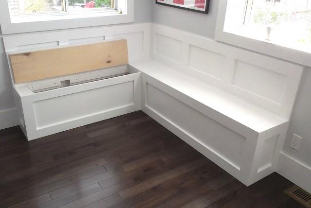 Storage Bench Seating Kitchen