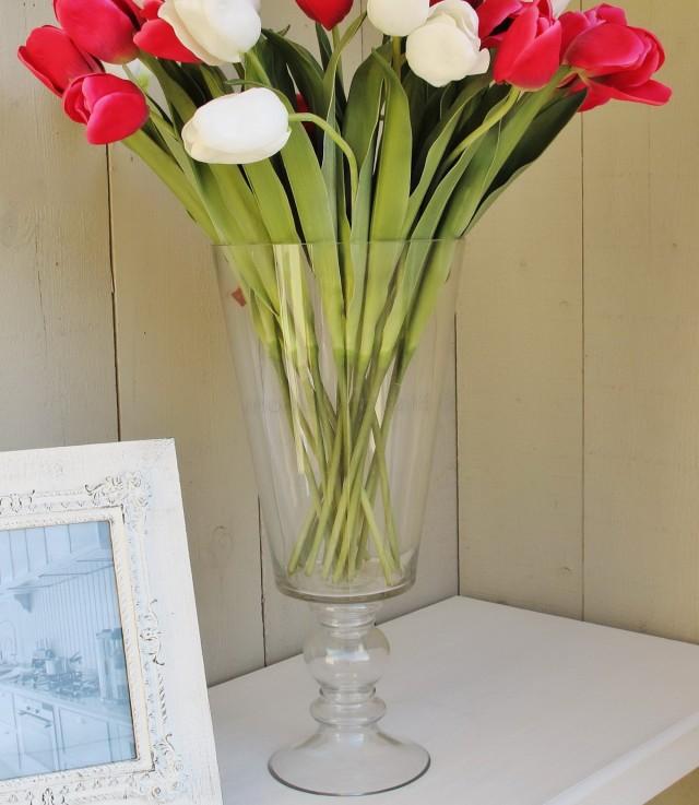 Tall Glass Flower Vases