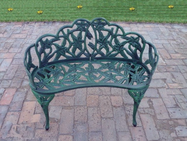 Wrought Iron Benches For Sale