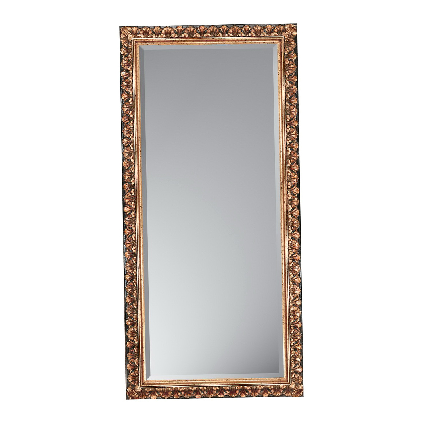 Antique Gold Floor Mirror