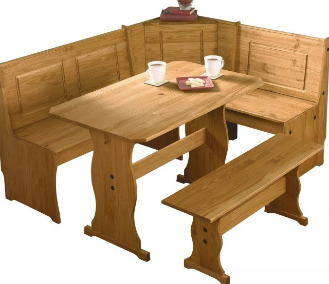 Corner Storage Bench Kitchen Table
