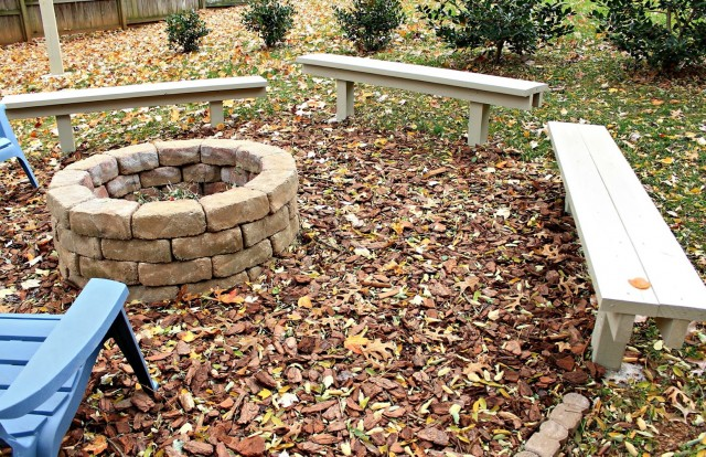 Diy Fire Pit Benches