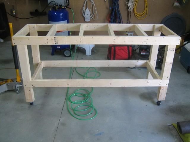 Garage Workbench Design