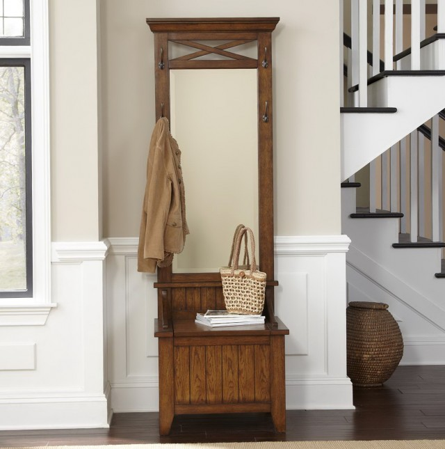 Hall Tree With Storage Bench Furniture