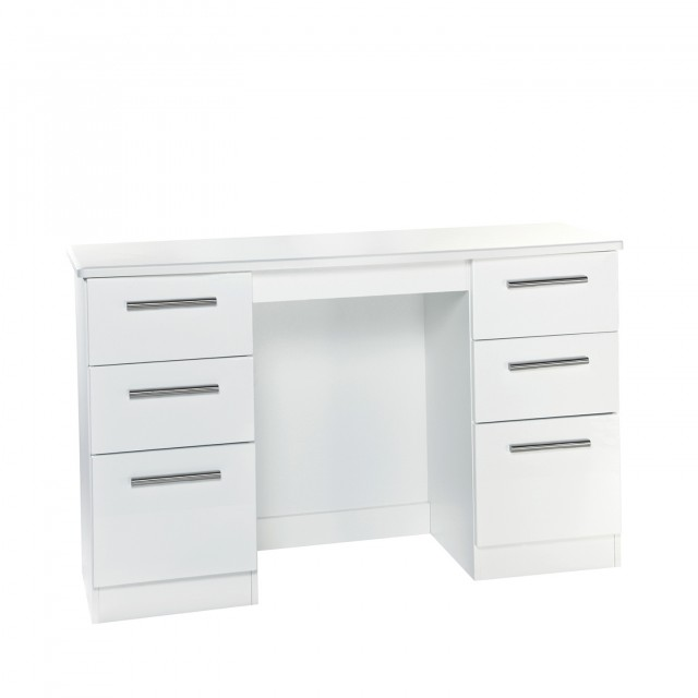 Mirrored Dressing Table With 7 Drawers