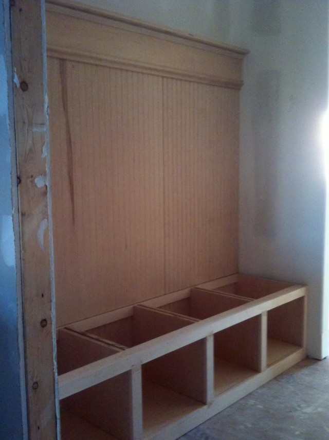 Mudroom Bench Woodworking Plans