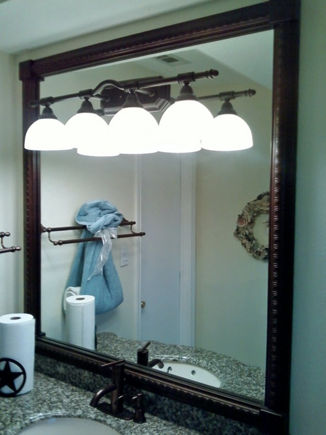 Oil Rubbed Bronze Mirrors Bathroom