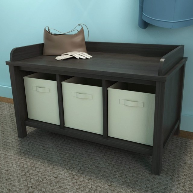 Small Storage Bench Hallway