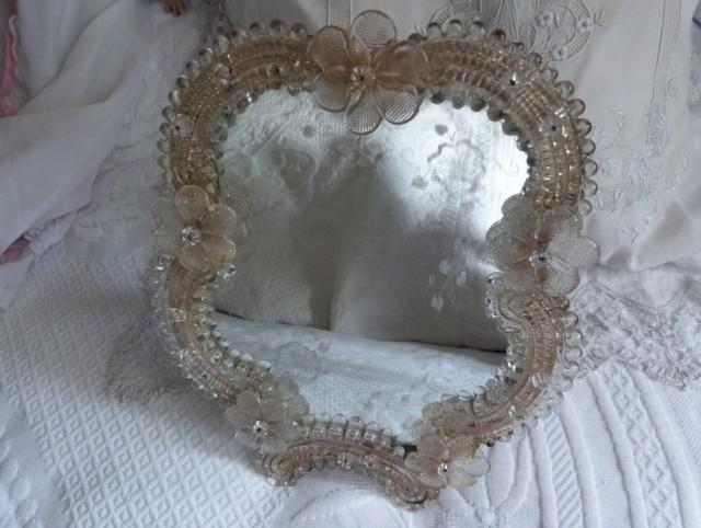 Venetian Glass Mirror Parts