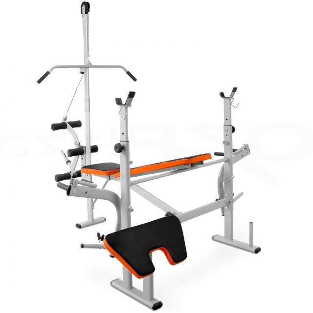 Bench Press And Squat Rack
