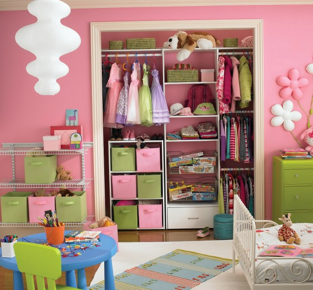 Closet Organizer Ideas For Kids