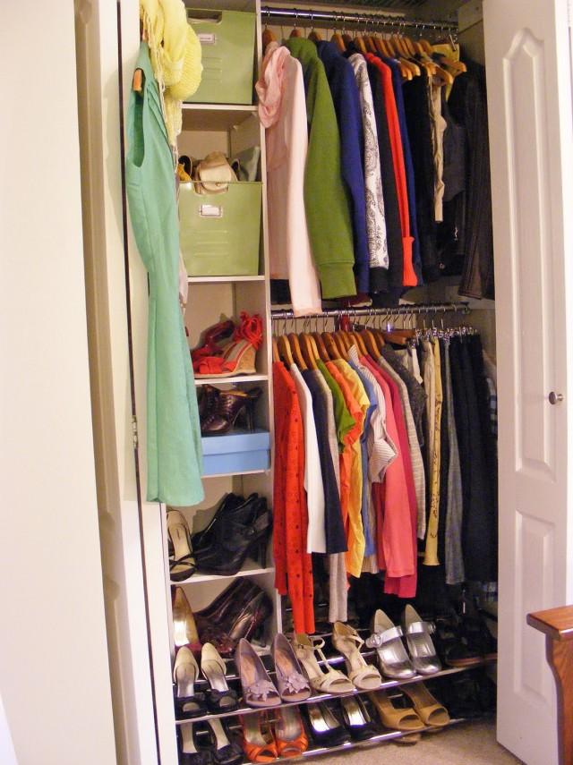 Double Hanging Closet Organizer