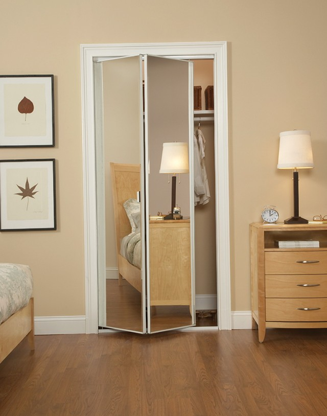 Folding Closet Doors Mirror