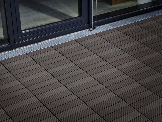 Interlocking Deck Tiles Home Depot