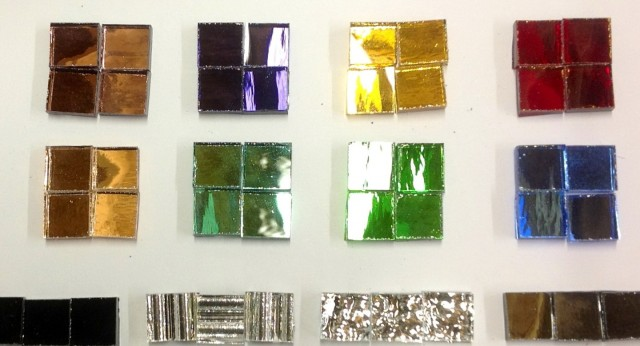 Mini Mirror Mosaic Tiles