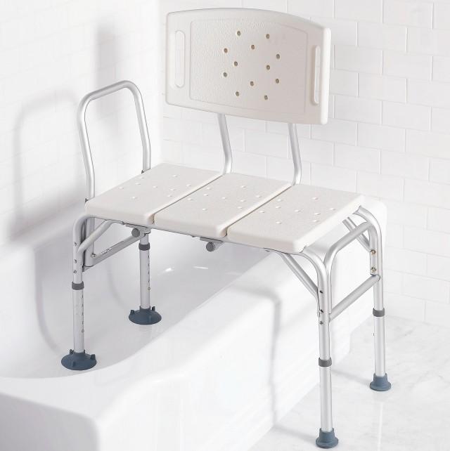 Sliding Transfer Bench For Shower