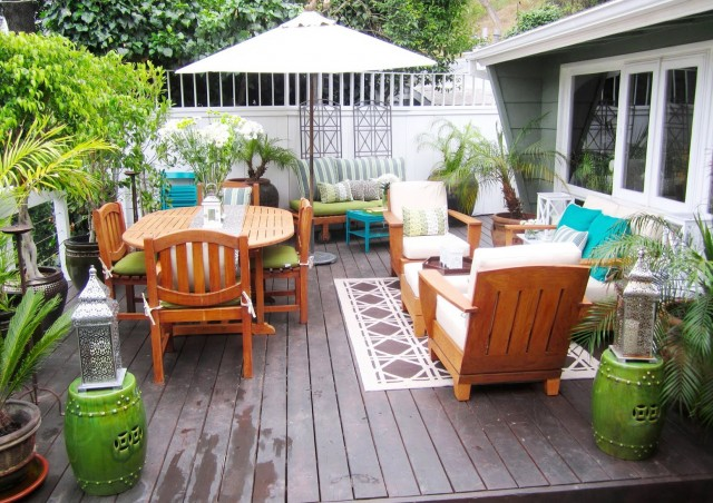 Small Deck Decorating Ideas