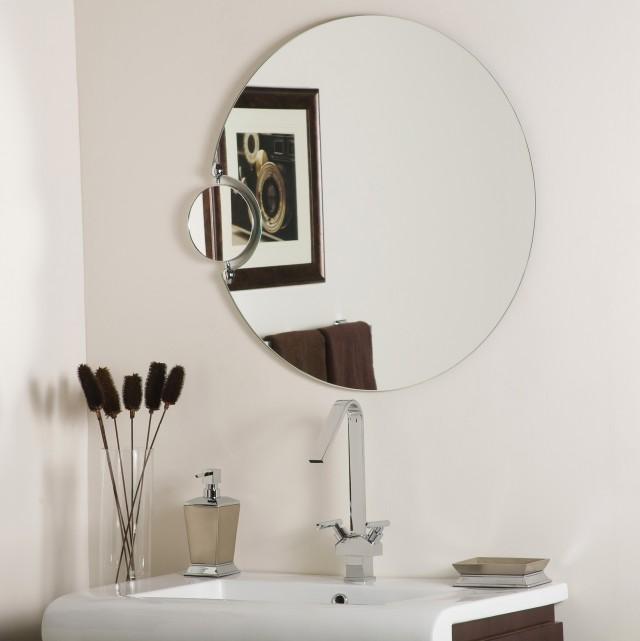 Small Round Bathroom Mirrors