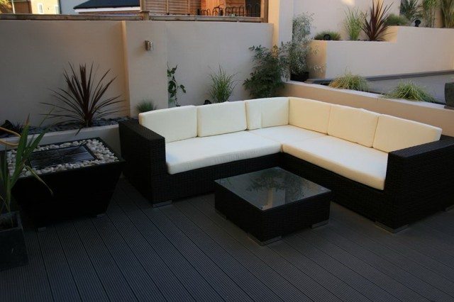 Black Composite Decking Boards