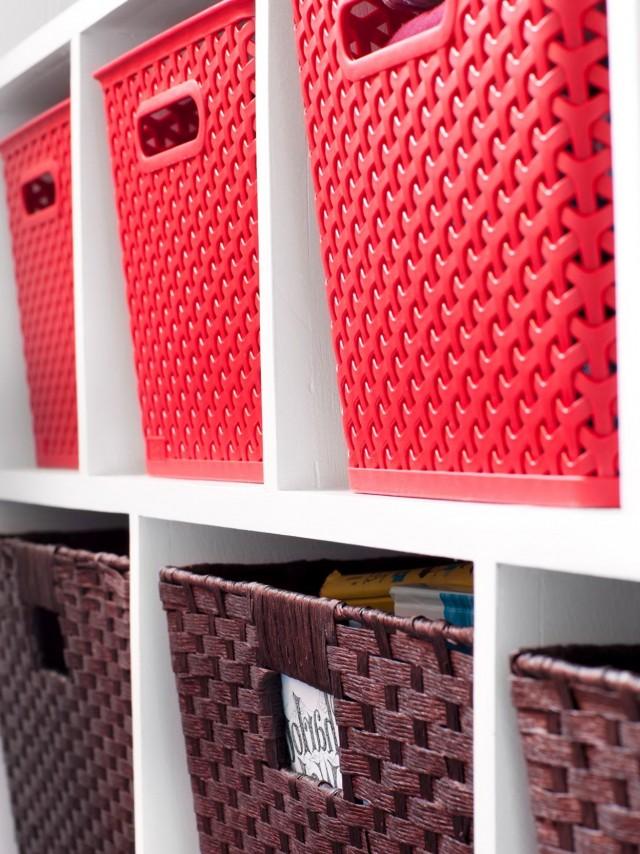 Closet Storage Baskets And Bins