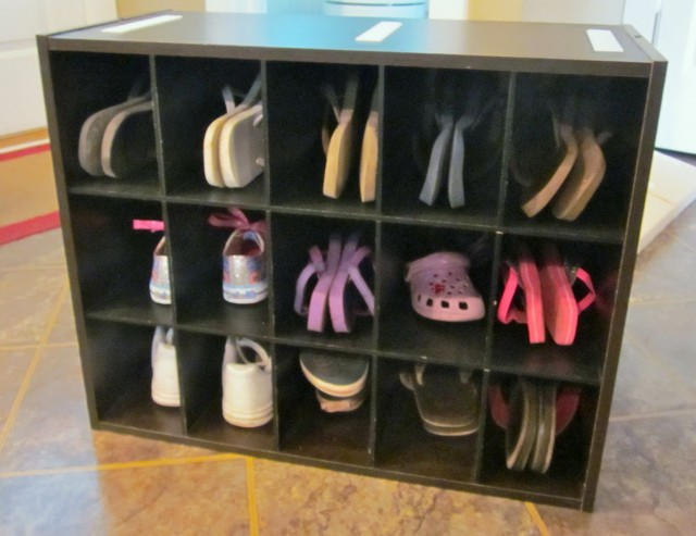 Homemade Shoe Rack For Closet